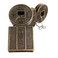 "Флешка Металлическая Китайская монета ""Chinese Coin"" R255"