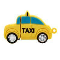 """Флешка Пластиковая Желтое Такси """"Yellow Taxi"""" S270"""