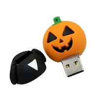 "Флешка Пластиковая Злая Тыква Хэллоуин ""Evil Pumpkin Halloween"" S301"
