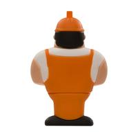 """Флешка Резиновая Строитель """"Builder"""" Q271"""
