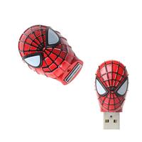 "Флешка Металлическая Маска Человек-Паук ""Mask Spider-Man"" R156"