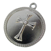 "Флешка Металлическая Монета Крест ""Coin Cross"" R74"