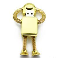 """Флешка Металлическая Робот """"Robot Metal"""" R99"""
