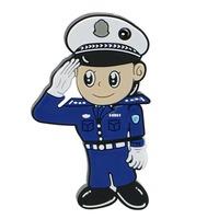"""Флешка Пластиковая Полицейский """"Police"""" S313"""