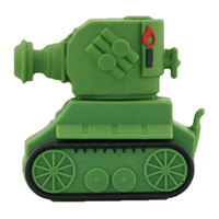 "Флешка Резиновая Ретро Танк ""Retro Tank"" Q338"