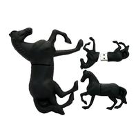 """Флешка Резиновая Лошадь """"Equine"""" Q343"""