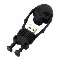 """Флешка Резиновая Скелет """"Skeleton"""" Q363"""