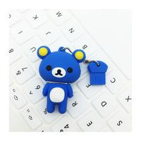 "Флешка Резиновая Медведь Рилаккума ""Bear Rilakkuma"" Q364"