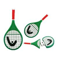"""Флешка Резиновая Ракетка Большой Теннис """"Tennis Racket"""" Q366"""