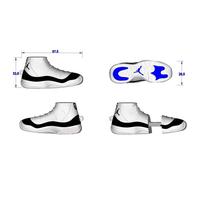 """Флешка Резиновая Баскетбольные Кроссовки """"Basketball Shoes"""" Q380"""