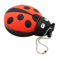 """Флешка Резиновая Божья Коровка """"Ladybug"""" Q382"""