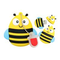 "Флешка Резиновая Пчела ""Bee"" Q390"