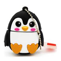 """Флешка Резиновая Пингвин """"Penguin"""" Q391"""