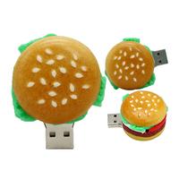 """Флешка Пластиковая Бургер """"Burger"""" S395"""