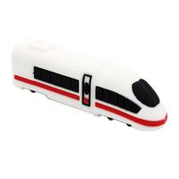 """Флешка Резиновая Поезд Экспресс """"Train Express"""" Q424"""