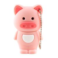 """Флешка Пластиковая Свинья """"Pig"""" S432"""