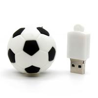 """Флешка Резиновая Футбольный Мяч """"Soccer Ball"""" Q485"""