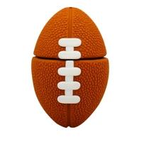 "Флешка Резиновая Мяч Регби ""Rugby Ball"" Q164"