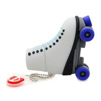 """Флешка Резиновая Роликовые Коньки """"Roller Skates"""" Q379"""