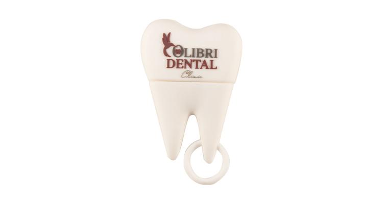 "Флешка Пластиковая Зуб ""Tooth"" S348 с логотипом"