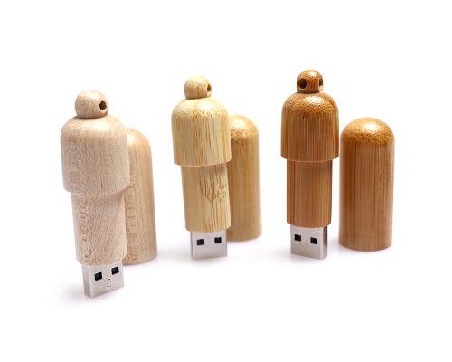 "Флешка Деревянная Цилиндр ""Cylinder Stick"" F92"