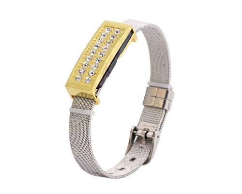 """Флешка Металлическая Браслет """"Bracelet Premium"""" R221"""