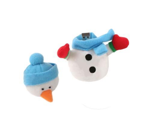 """Флешка Тканевая Снеговик """"SnowMan"""" X70"""