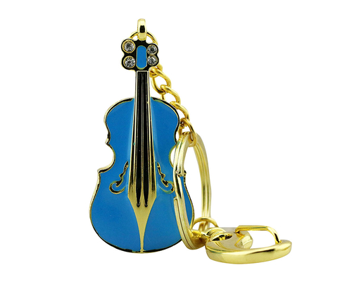 """Флешка Металлическая Скрипка """"Violin Key"""" R4"""