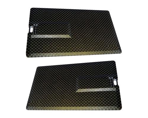 "Флешка Карбоновая Визитка ""Business Card Carbon"" L222"