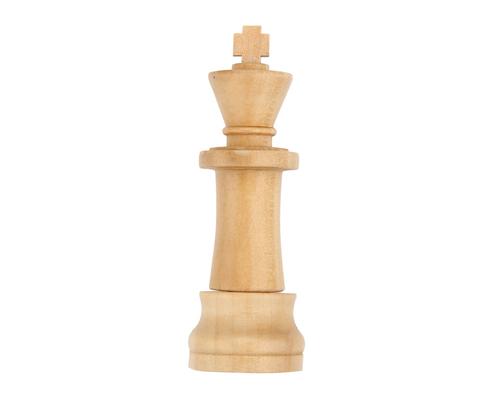 """Флешка Деревянная Шахматы Король """"Chess King"""" F25"""