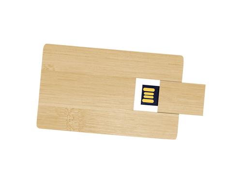"Флешка Деревянная Визитка ""Business Card Wood"" F27"