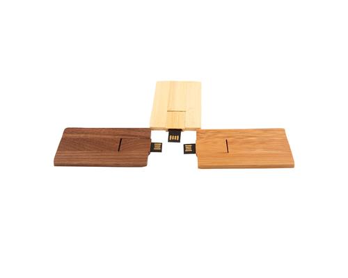 "Флешка Деревянная Визитка ""Card Wood"" F27"