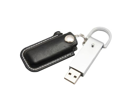 """Флешка Кожаная Мерос """"Meros Leather"""" N327"""
