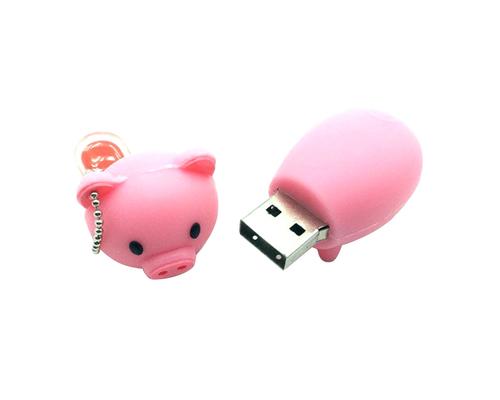 """Флешка Резиновая Поросенок """"Piggy"""" Q430"""