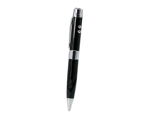 "Флешка Металлическая Ручка Лазерная указка WBR ""Pen Laser Pointer"" R44 черный 1 ГБ"