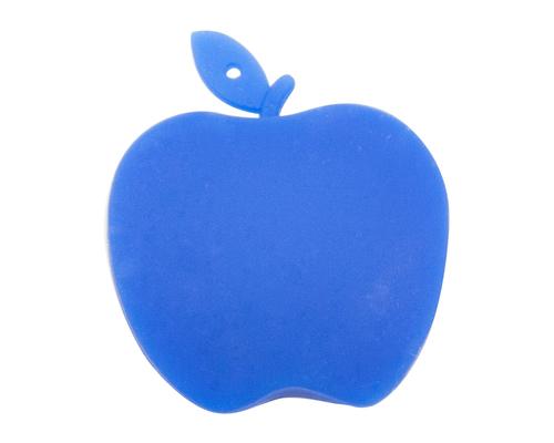 """Флешка Силиконовая Яблоко """"Apple"""" V464 синий 256 Гб"""