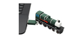 """Флешка Резиновая Ретро Поезд """"Retro Train"""" Q84 зеленый 1 Гб"""