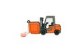 """Флешка Резиновая Погрузчик """"Forklift Truck"""" Q143"""