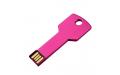 "Флешка Металлическая Ключ ""Key"" R145 розовый 32 Гб"