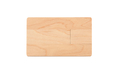"Флешка Деревянная Визитка ""Business Card Wood"" F27 бежевый 2 Гб"
