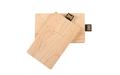 "Флешка Деревянная Визитка ""Business Card Wood"" F27 бежевый 128 Гб"