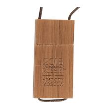 "Флешка Деревянная Кулон ""Pendant Wood"" F37, гравировка"