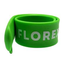 """Флешка Силиконовый Браслет """"Bracelet Slap"""" V169 зеленый, шелкография 1+0"""