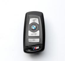 """Флешка Карбоновая """"Автомобильный ключ BMW M"""" L10 черная 256 Гб"""