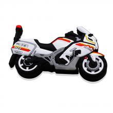 "Флешка Резиновая Мотоцикл CFMOTO ""Motorcycle"" Q96 белый 4 Гб"