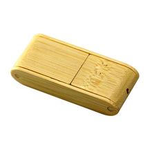 "Флешка Деревянная Пенал ""Penal Box Wood"" F65 бежевый 4 Гб"
