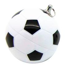 """Флешка Пластиковая Футбольный Мяч """"Soccer Ball"""" S140 белый / черный 4 Гб"""