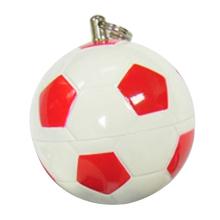 """Флешка Пластиковая Футбольный Мяч """"Soccer Ball"""" S140 белый / красный 4 Гб"""