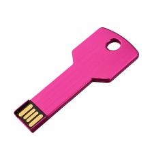 "Флешка Металлическая Ключ ""Key"" R145 розовый 4 Гб"
