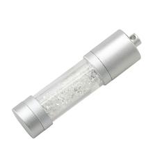 """Флешка Стеклянная Цилиндр """"Cylinder Glass"""" W188 белый 4 Гб"""